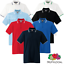 Fruit-Of-The-Loom-MEN-039-S-TIPPED-POLO-SHIRT-COLLAR-CONTRAST-SMART-GOLF-SPORT-S-3XL thumbnail 1