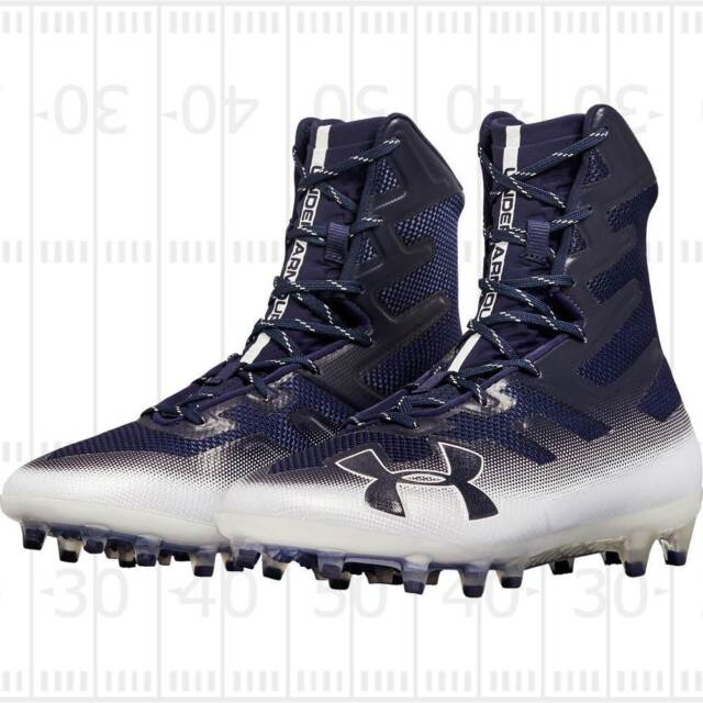 c5a6adc0ca1 Under Armour UA Highlight MC Football Cleats Mens Size US 10.5 White  1269693-102