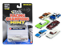 MINT RELEASE 2017 SET D SET OF 6 CARS 1/64 DIECAST BY RACING CHAMPIONS RC003D