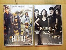 2 Drama DVD: Neighborhood Hero + Fashion King Kwon Yuri SNSD Girls Generation