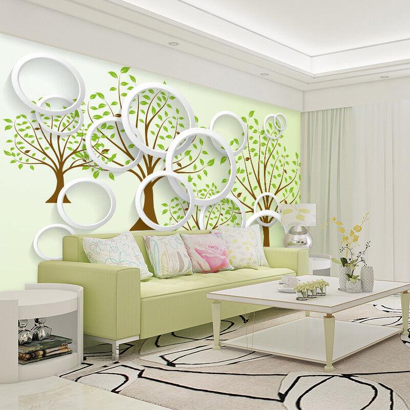 3D Tree Grün 402 Wallpaper Murals Wall Print Wallpaper Mural AJ WALL AU Kyra