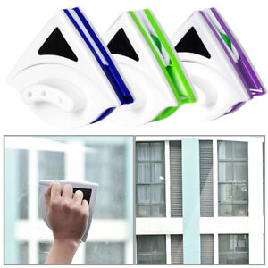 Magnetic-Window-Double-Side-Glass-Wiper-Cleaner-Surface-Cleaning-Brush-Car-Tools