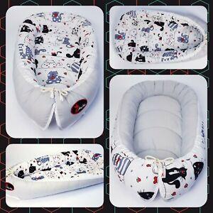 Baby Nest Pod Cocoon Coussin Lit Nourrisson Dormir Réversible Le Moins Cher De Haute Qualité-afficher Le Titre D'origine Vous Garder En Forme Tout Le Temps