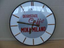 OROLOGIO CAFFE' MOKA MILANO BAR EPOCA PROMO OLD COFFEE ITALY