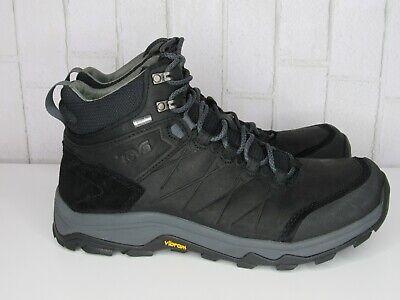 c1e7e003084 Teva Men's Arrowood Riva Mid Wp Black Mens Hiking Boots Size US 10 ...