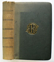 The Poetical Works of Sir Walter Scott 1882 full leather - W M Rossetti intro