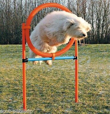NEW Dog Agility Tyre Jump - Dogs Training Hoop Jump