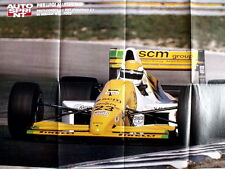 Poster 80X55 - MINARDI M189 FORD MARTINI  [AS3] -74