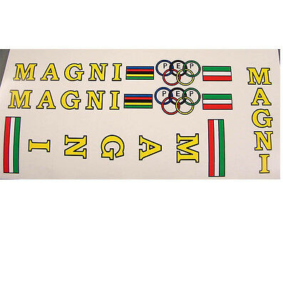 Magni Exclusive B ICS vintage decals for Campagnolo Swiss