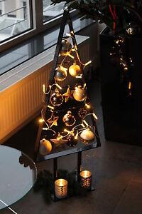 weihnachtsbaum 98cm hoch hochglanz christbaum tanne metall. Black Bedroom Furniture Sets. Home Design Ideas