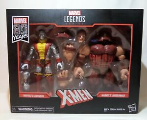 Marvel Legends Hasbro New 80th Anniversary 2019 Colossus /& Juggernaut 2-Pack