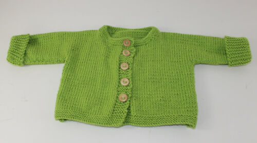 KNITTING INSTRUCTIONS-BABY ONEPIECE CARDIGAN /& BEANIE HAT KNITTING PATTERN