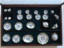 Hansson Dollhouse Miniature Chinese Porcelain Dining Set 24 pcs. 1:12