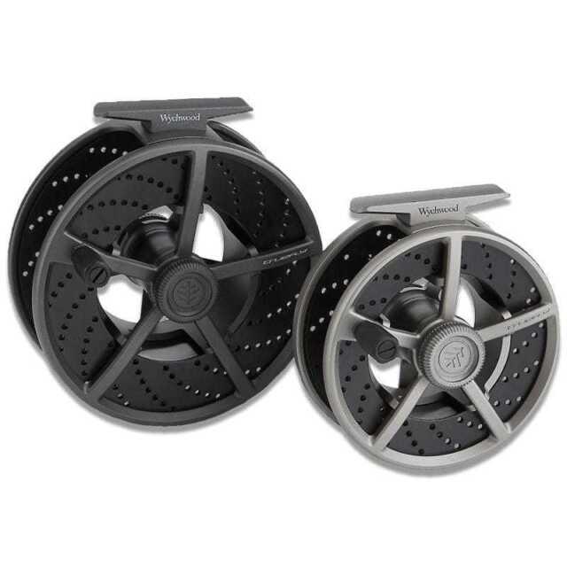 #5//6 WYCHWOOD SLA MKII Silver Fly Reel /& Case Fly Fishing Reel cassette Reel