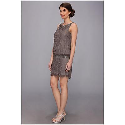 ADRIANNA PAPELL 1920s Beaded Fish Scale Wedding Party Dress UK 8 - 20 RRP £130
