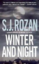 Winter and Night (A Bill SmithLydia Chin Novel)-ExLibrary