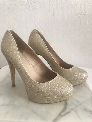Next Wide Fit Size 4.5 Glitter Sparkly