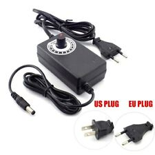 Ac To Dc Power Supply Adapter Adjustable 3 12v 2a Switch Motor Speed Controller