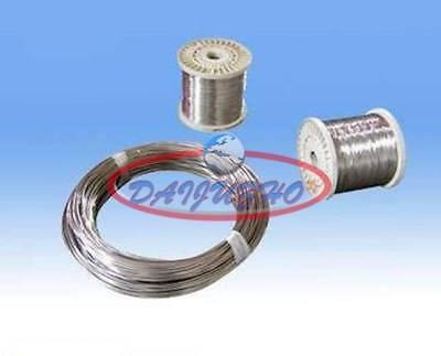 2m = 6.6 FT Titanium Ti Wire Grade 1 One GR1 Diameter 0.2mm