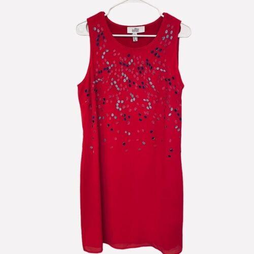 Belle Badgley Mischka   Embroidered & Beaded Dress - image 1