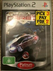 Need-for-Speed-Carbon-PS2-034-Aussie-Seller-034-Cheap-game-Game-Over-Australia