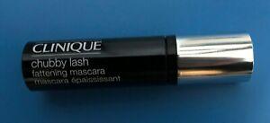 Clinique Chubby Lash Fattening Mascara NEW Travel Size Jet Black 01