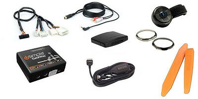 Bluetooth streaming music kit w/ remote +3.5mm aux input cable. For Nissan radio