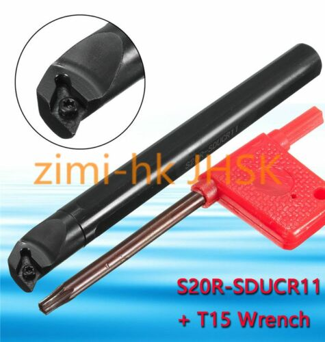 10* S20R-SDUCR11 20X200mm Lathe Turning Tool Boring Bar Holder For DCMT11T3