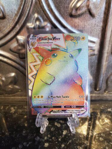 Rainbow Pikachu VMAX 188//185  Vivid Voltage//Mixed Pokemon Card REPACK//BUYBACK