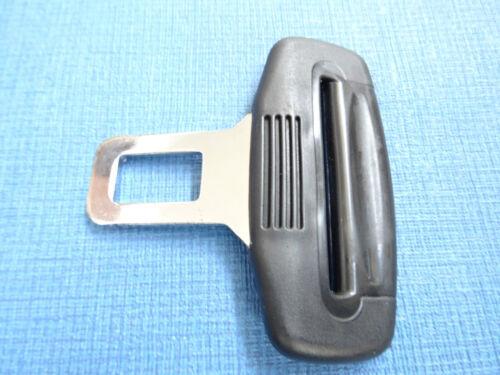 *BLACK* PEUGEOT 3008//3008//5008 SEAT BELT ALARM BUCKLE KEY CLIP SAFETY CLASP STOP