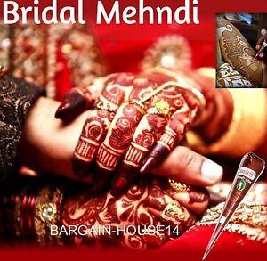 Bridal Dark Herbal Henna Mehndi Cones Darkest Cheapest On Ebay