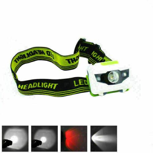 XML R3 2 LED Stirnlampe Kopflampe 18650 Akkus Scheinwerfer 900LM Headlight Y5O6