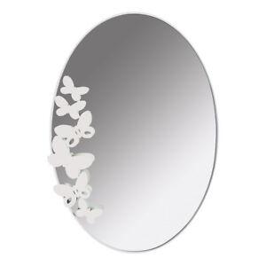Arti e mestieri specchio da parete butterfly ovale in metallo verniciato ebay - Specchio arti e mestieri ...