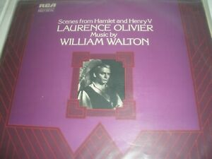 Scenes from Hamlet and Henry V Laurence Olivier Vinyl LP RCA Red Seal LSB 4104