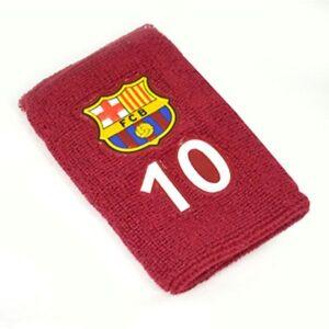 Oficial-F-C-Barcelona-Numerados-10-Pulsera-Borgona-Idea-Regalo
