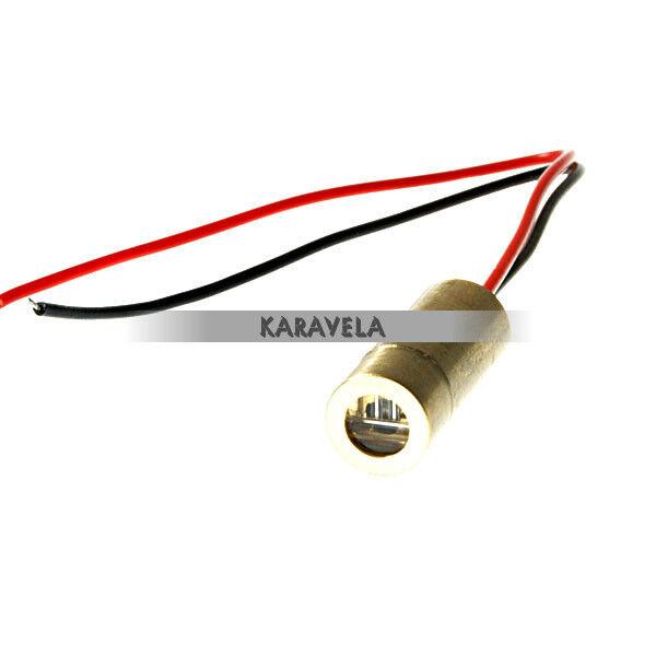 Red Laser Module - Adjustable Crosshair (3.5V~4.5V 9mm 5mW)