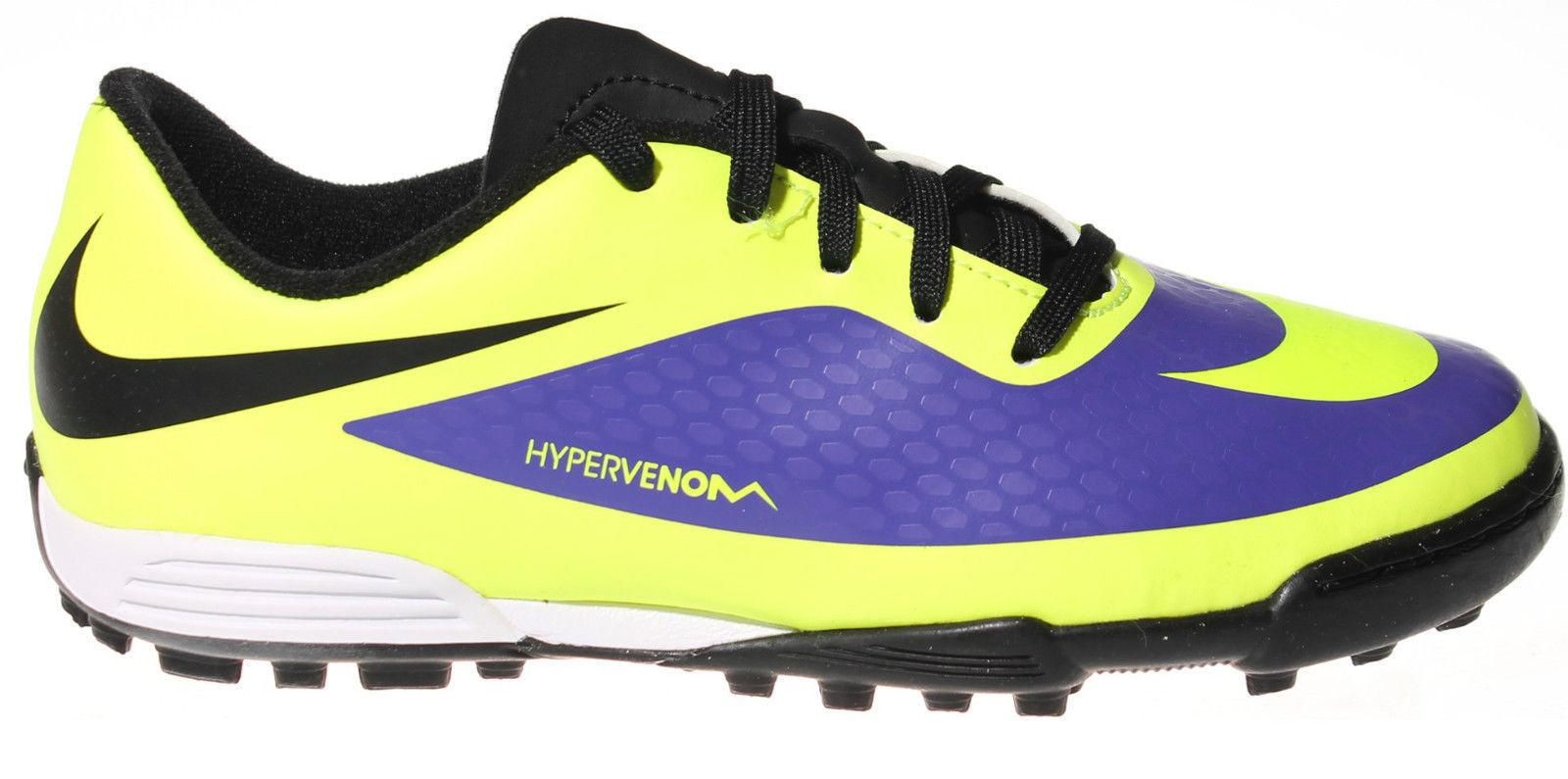 FW14 Nike Mercurial Hypervenom Phade Tf botas Jr botas Fútbol Sala 599813 570