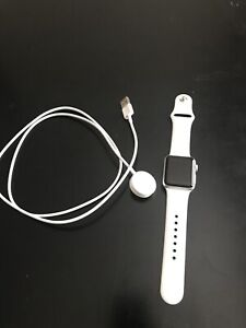Apple-Watch-Series-3-38mm-Stainless-Steel-Case-with-Soft-White-Sport-Band-GPS