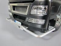 Front Lower Aluminum Bumper Guard Tamiya 1/14 Semi Man Tgx 26.540 6x4 Xlx Truck