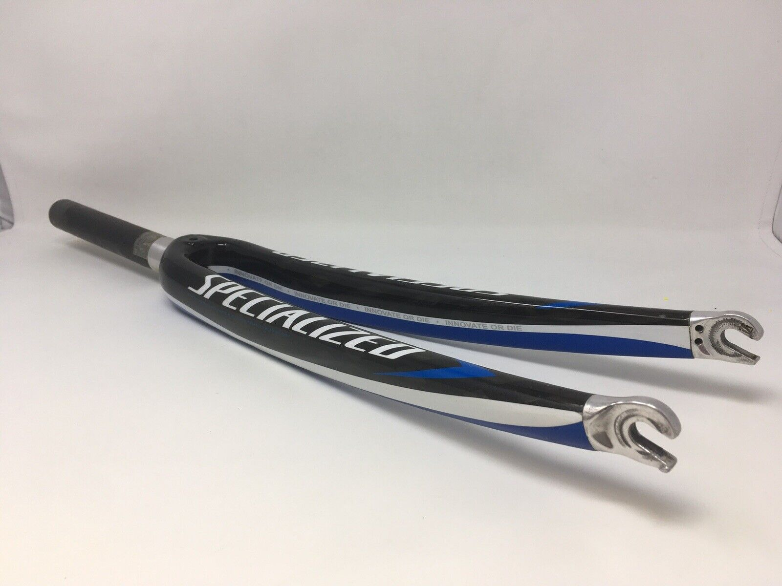 SPECIALIZED Tarmac Straight 1-1 8  Carbon Fork 194mm Steerer 43mm Rake PRE-OWNED