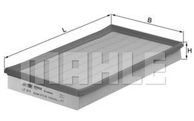 KNECHT Filtro de aire OPEL VECTRA SPEEDSTER VAUXHALL VX220 LX 614