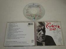 JOE COCKER/LIVE (CAPITOL CDP 7934162) CD ALBUM