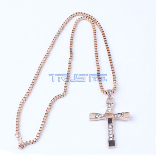 Cross Pendant Necklace Silver Stainless Steel Unisex/'s Chain Crucifix Men Wome