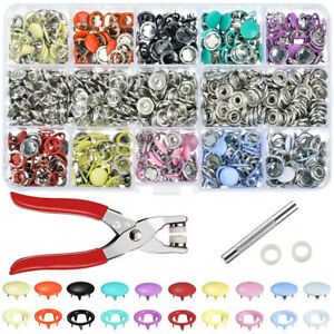 1Set-Metal-Sewing-Snap-Hollow-Buttons-Prong-Press-Studs-Fasteners-Plier-Tools