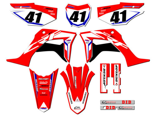 2019 2020 CRF 125 GRAPHICS KIT CRF125 DECO DECALS DÉCOR FITS ON HONDA STICKERS