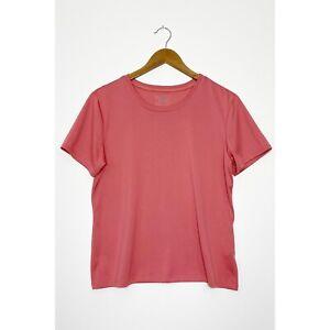 PATAGONIA Vintage Capilene Base Layer Short Sleeve T-Shirt Top Pink size Large