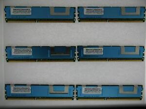 24gb 6x4gb Pc2-5300 Ecc Fb-dimm Ibm X3400 Type 7975 Équivalent 46c7420 DéLicieux Dans Le GoûT