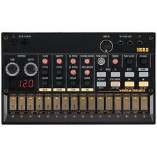 Korg Volca Beats Analog Rhythm Drum Machine Module - Incl 6 x AA Batteries