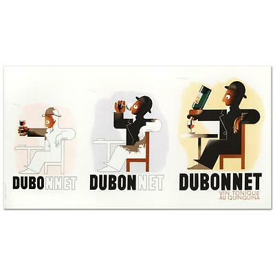 """""""Dubo Dubon Dubonnet"""" Hand Pulled Lithograph by the RE Society"""