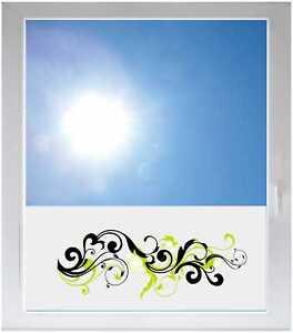 Sichtschutzfolie-Sonnenschutz-Fensterfolie-GMF0209-Tribal-Ranke-Blume
